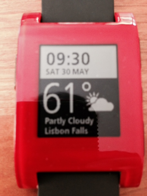Boomers like wearable technology like the Pebble Watch!  Why not an Apple Watch?