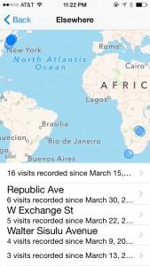 Tracking on my iPad