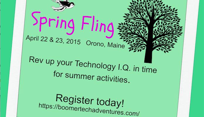 BoomerTECH Adventures Spring Fling!