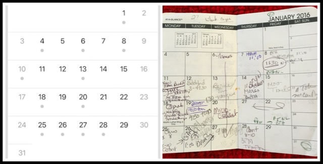 True Confession: I Still Use a Paper Calendar