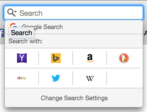 Search Engine possibilities