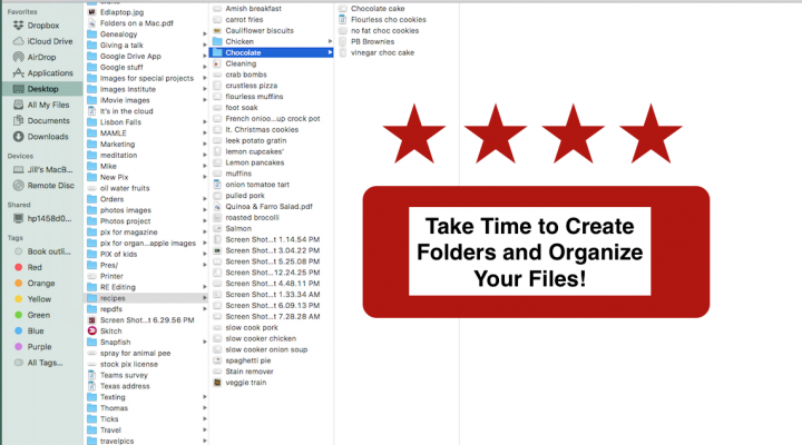 Mac Tips—Creating Folders