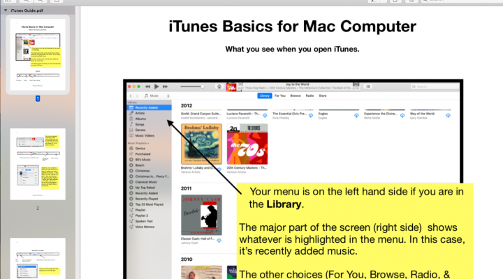 Getting Started With iTunes on Your Mac