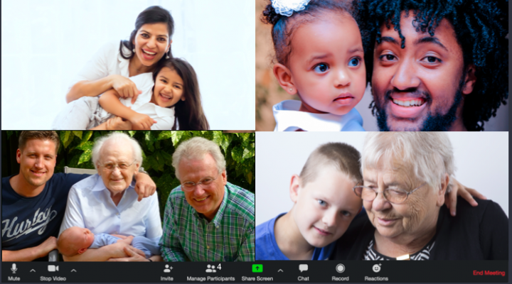 Of Course it's Easy to Bring Grandparents & Grandkids Together—Tech to the Rescue!