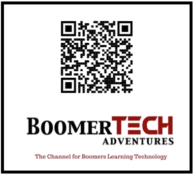 QR Codes For Boomers